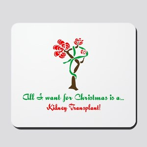 Christmas Wish Kidney Mousepad