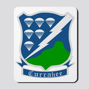 Army-506th-Infantry-WWII-Currahee-Patch Mousepad