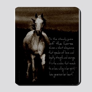 The Horse Mousepad