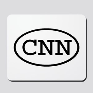 CNN Oval Mousepad
