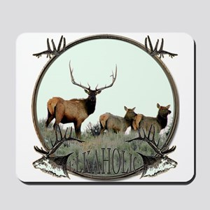 Monster bull elk elkahalic Mousepad