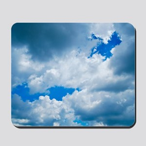 CUMULUS CLOUDS Mousepad