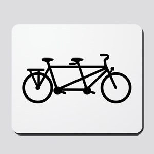 Tandem Bicycle Mousepad