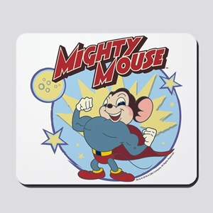 Mighty Mouse: Hero Pose Mousepad