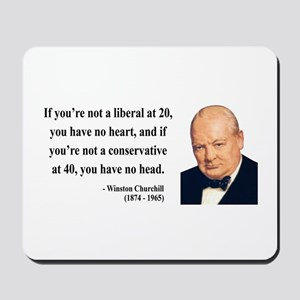 Winston Churchill 8 Mousepad