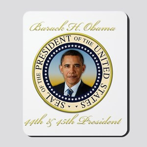 Keepsake President Obama Re-Election Mousepad