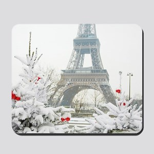 Winter in Paris Mousepad
