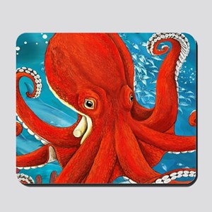Octopus Painting Mousepad