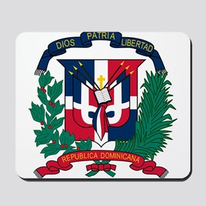 Dominican Republic Coat Of Arms Mousepad