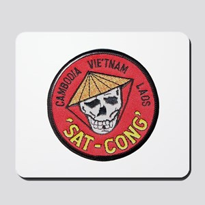 Sat-Cong Kill Communists Mousepad