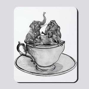 Teacup Elephants Mousepad