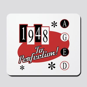 1948 Birth Year Retro Mousepad