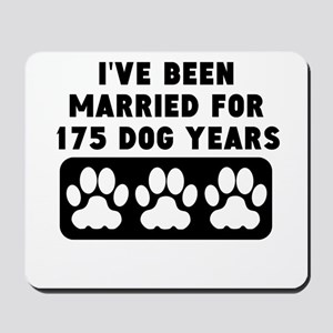 25th Anniversary Dog Years Mousepad