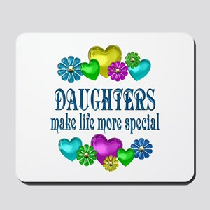 Daughters More Special Mousepad