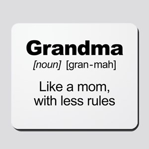 Grandmas Rule! Mousepad