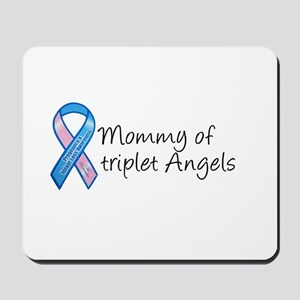 Mommy of Triplet Angels Mousepad