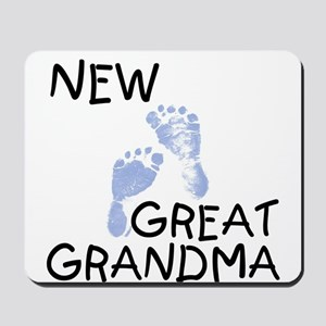 New Great Grandma (blue) Mousepad