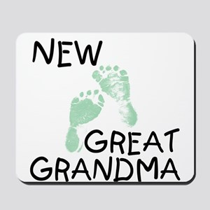 New Great Grandma (green) Mousepad