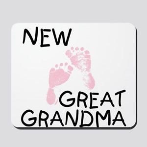 New Great Grandma (pink) Mousepad