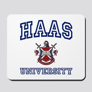 HAAS University Mousepad