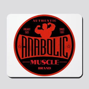 RETRO MUSCLE LOGO Mousepad