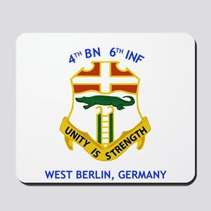 4th BN 6th INF Mousepad