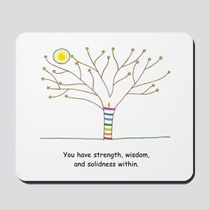 New Age Tree Wisdom Mousepad