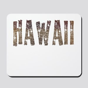 Hawaii Coffee and Stars Mousepad