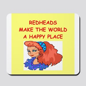redheads Mousepad