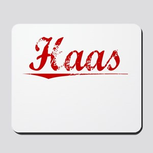 Haas, Vintage Red Mousepad
