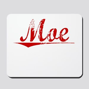 Moe, Vintage Red Mousepad