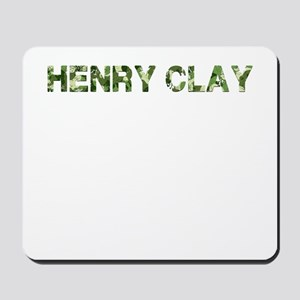 Henry Clay, Vintage Camo, Mousepad