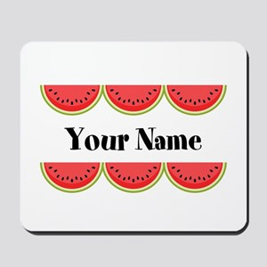 Watermelons Personalized Mousepad