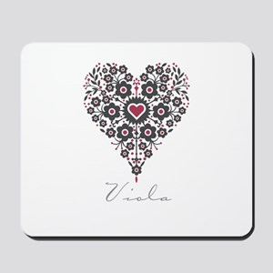 Love Viola Mousepad