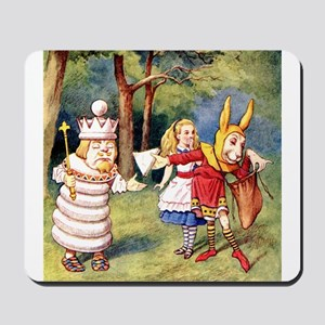 White King and March Hare Mousepad