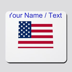 Custom Colorado American Flag Mousepad