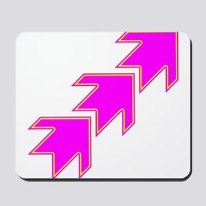 Pink Arrows Mousepad