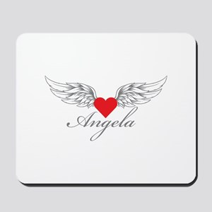Angel Wings Angela Mousepad
