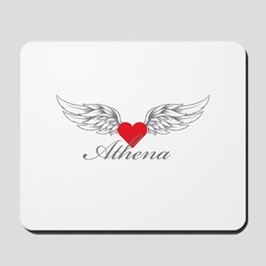 Angel Wings Athena Mousepad