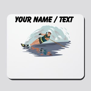 Custom Water Skiing Mousepad