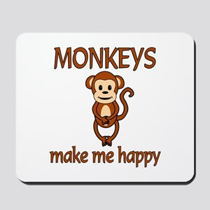 Monkey Happy Mousepad