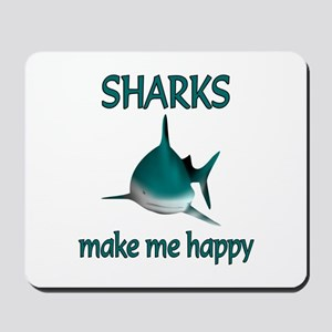 Shark Happy Mousepad