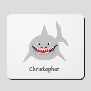 Personalized Shark Design Mousepad