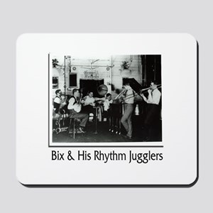 Bix Beiderbecke and His Rhythm Jugglers Mousepad