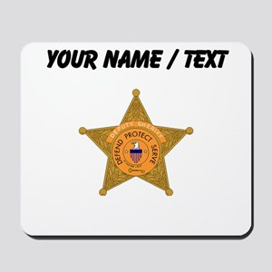 Deputy Sheriff Badge (Custom) Mousepad