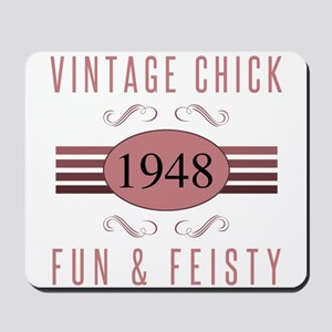 1948 Vintage Chick Mousepad