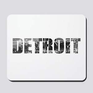 Detroit Skyline Mousepad