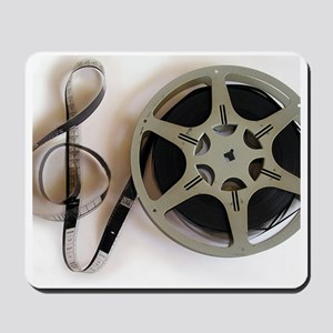 Clef and Film Reel by Leslie Harlow Mousepad