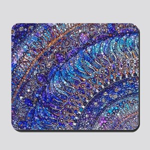 Midnight Jewel Mandala Mousepad