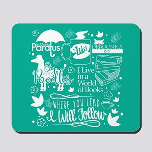 Gilmore Girls Collage Mousepad